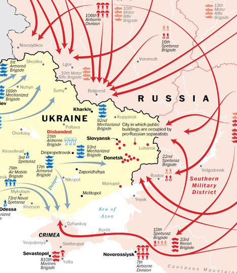 Military Mobilizations: Ukraine and Russia | Geography Education | Scoop.it