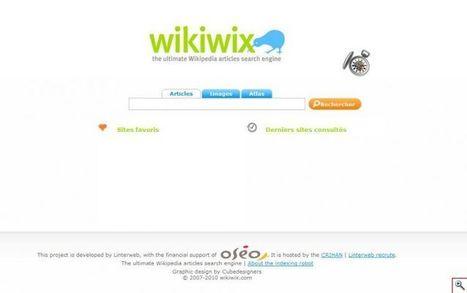 Wikiwix : un moteur de recherche efficace pour Wikipédia. | Time to Learn | Scoop.it