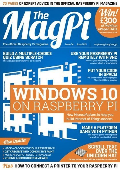 The MagPi Issue 34 – out now! | Raspberry Pi | Scoop.it