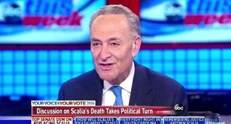 Chuck Schumer opens can of whoop-ass on Ted Cruz for threatening to block Obama court appointment | American Politics | Scoop.it