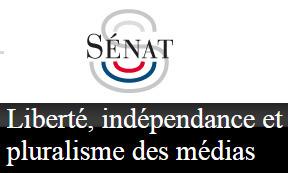 Adoption de la proposition de loi sur l'indépendance des médias par le Sénat | DocPresseESJ | Scoop.it