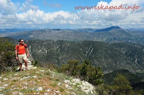 Nouveau topo : Le pic du Comte dans le massif du Ventoux | Topo et fiche de randonnée à pied by eskapad | Scoop.it