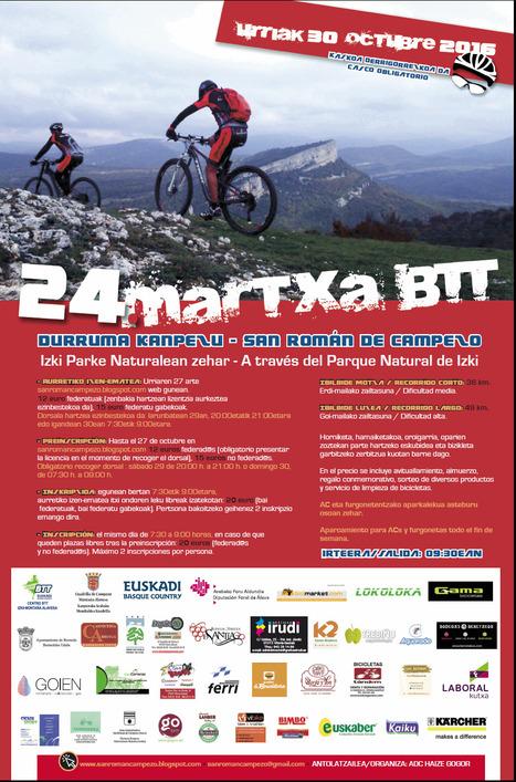 XXIV Martxa BTT Durruma Kanpezu - San Román de Campezo | Mendialdea.info | Scoop.it