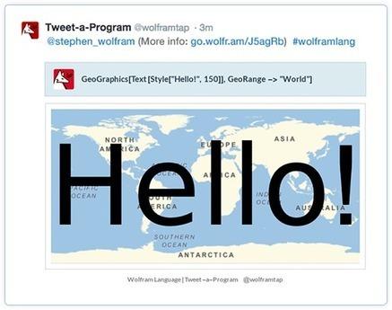 Wolfram Language Tweet-a-Program   Programmieren für alle   Scoop.it