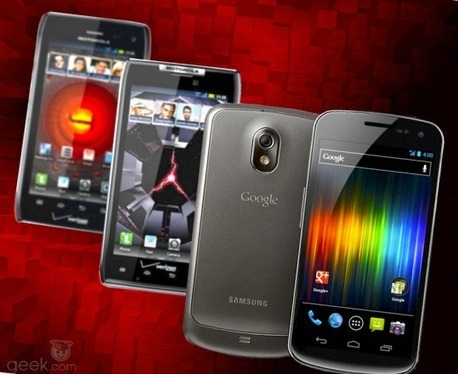 Droid 4 vs. Galaxy Nexus vs. Droid Razr: specs showdown – Cell ... | Gadget Shopper and Consumer Report | Scoop.it