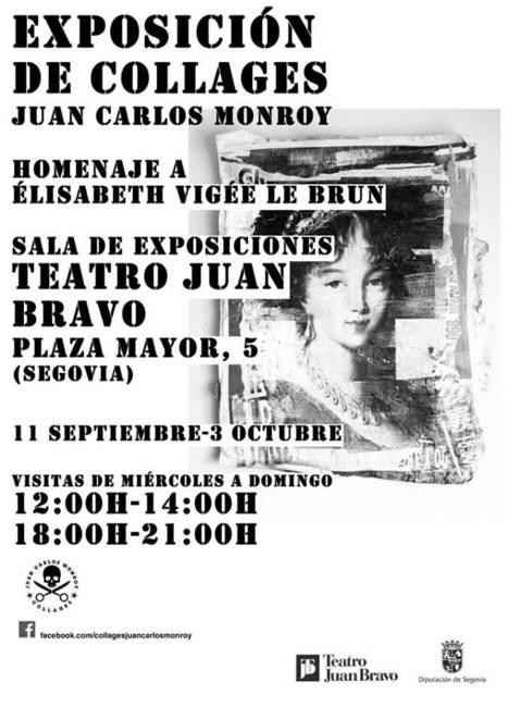 JUAN CARLOS MONROY, Exposición de Collages, del 11 de Septiembre al 3 de Octubre de 2013, Segovia. | MARATÓN DE CITAS | Scoop.it