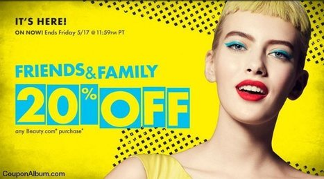 Beauty.com Friends And Family Event! | Coupons & Deals | Scoop.it