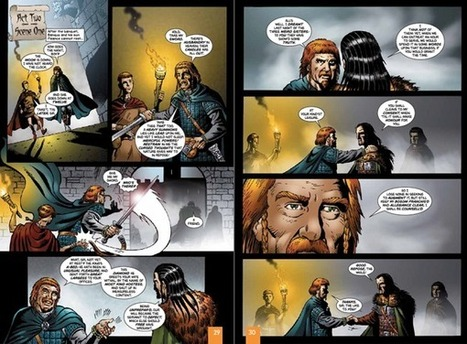 Macbeth Motion Comic as E-learning Scenario Model | Digital Learning Invador | Scoop.it