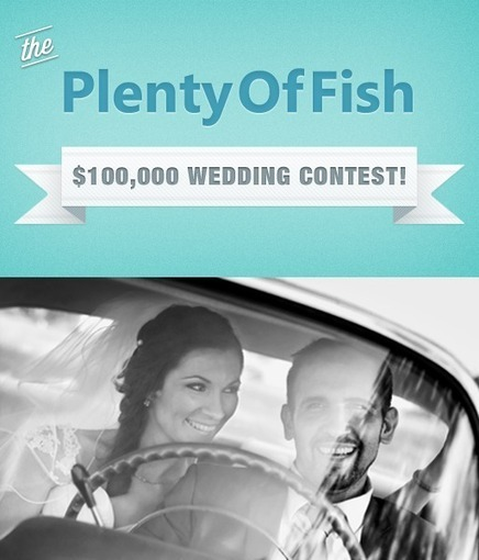 The PlentyOfFish $100,000 Wedding Contest | wedding | Scoop.it