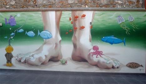Urbanizarte llena Dénia de obras de arte | Dénia Meeting Point, el albergue | Scoop.it