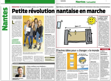 La révolution de l'alimentation est en marche à Nantes avec Transition Positive et les étudiants de SciencesCom | Enseignement Supérieur, Innovation et Territoire | Scoop.it