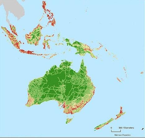 La NASA dévoile la carte des régions préservées de l'Homme   Biodiversité et économie   Scoop.it