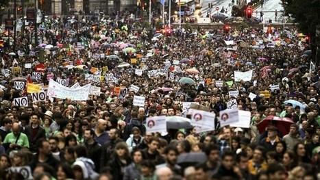 El País. La lluvia no frena la marea verde | La prensa | Scoop.it