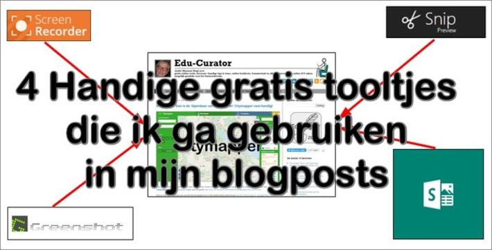 Edu-Curator: 4 Handige gratis tooltjes die ik ga gebruiken in mijn blogposts | Educatief Internet - Gespot op 't Web | Scoop.it