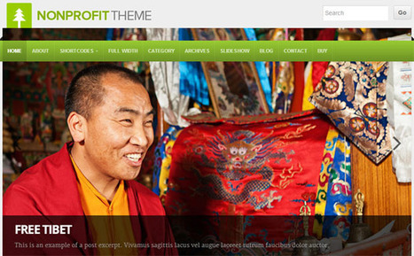 20 Best WordPress Themes for Non Profits and Charities | WP Template | Juncke EDVBeratung | Scoop.it