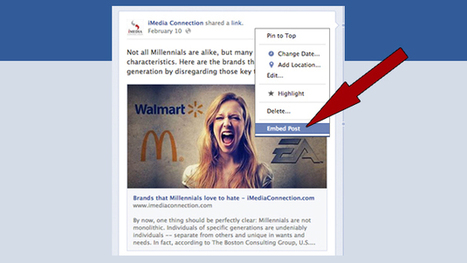 9 Facebook hacks that will blow your mind - iMediaConnection.com | Community Managers Unite | Scoop.it