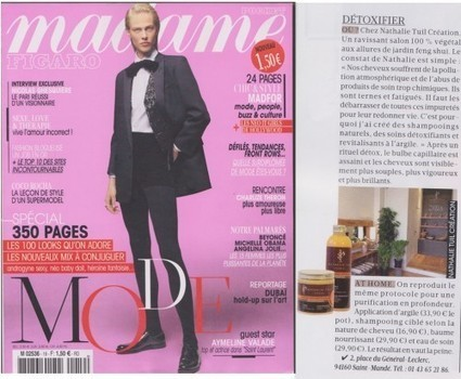 Madame Figaro, Spécial Mode 14 | Beauty Push, bureau de presse | Scoop.it