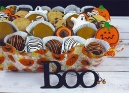 Pumpkin Patch Ruffle Basket | Halloween Gift Basket| Ingallina's Box Lunch Portland | Holiday Special | Scoop.it
