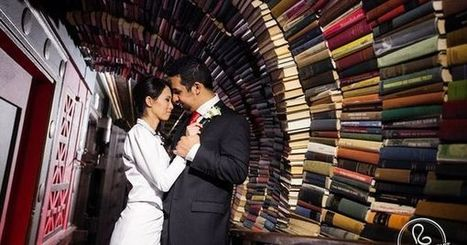 19 Jaw-Dropping Wedding Venues For Book Lovers | Libraries, Books, and Writing | Scoop.it