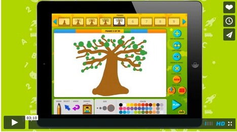 3 iPad Apps for Kids to Design Creative Animations ~ Educational Technology and Mobile Learning | Tech in teaching | Scoop.it