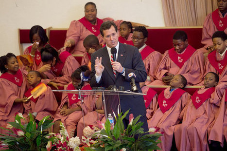 Stephen Crowley's Extraordinary Photo of Santorum at an African-American Church | AntiRacism & Privilege | Scoop.it