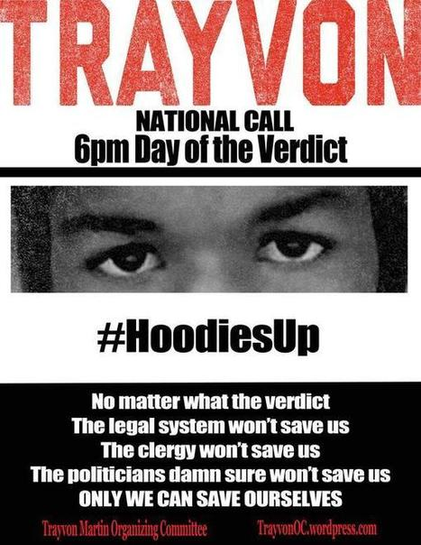 Today: #HoodiesUp — Justice for Trayvon Actions in 40+ Cities | OccupyWallSt.org | Another World Now! | Scoop.it