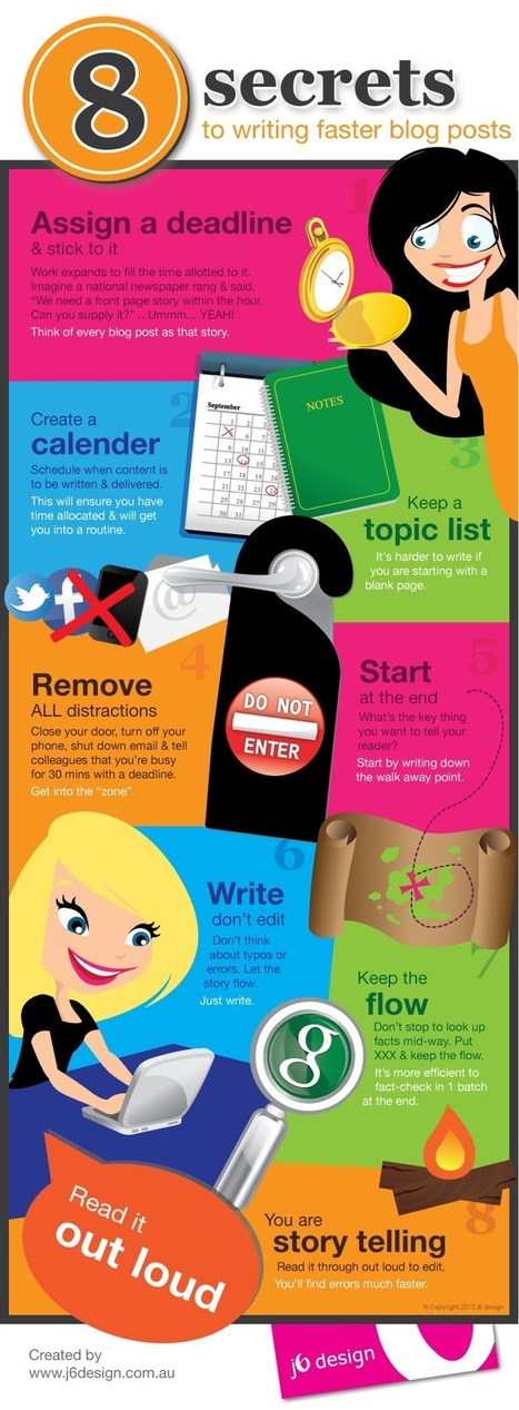 8 secrets to writing faster blog posts | Visual.ly | non profit public relations | Scoop.it