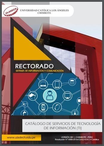 Catálogo de Servicios de Tecnologías de Información (TI) | RedDOLAC | Scoop.it