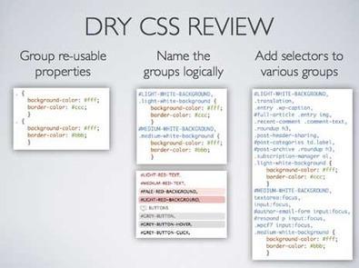 DRY CSS | Exploring CSS + Javascript best practices | Scoop.it