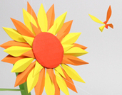 Flower & butterfly - paper craft | Visual | Scoop.it