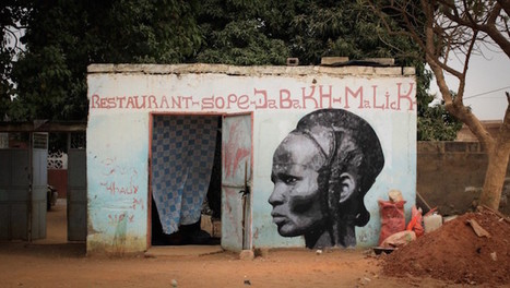 Historical Portraits of African Female Warriors by Street Artist YZ | Culture | Scoop.it