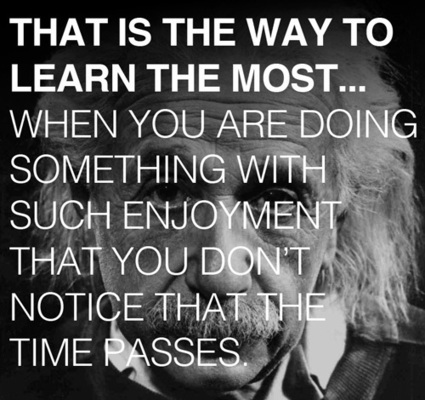 The Secret to Learning Anything: Albert Einstein's Advice to His Son | Quirky (with a dash of genius)! | Scoop.it