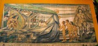 El Bosque exhibe obra del autor del mural de Gabriela Mistral | La Nación (Chili) | Kiosque du monde : Amériques | Scoop.it