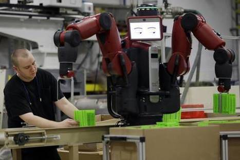 Robots Eye Jobs in Food Service, Manufacturing | Business Transformation | Scoop.it