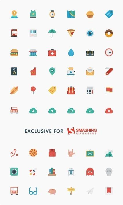 Freebie: Smallicons Icon Set (54 Icons, SVG, PNG, PSD)   Smashing Magazine   Ergonomy, design, web creation & tips   Scoop.it