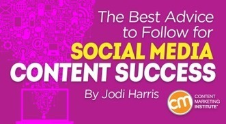 The Best Advice to Follow for Social Media Content Success | Surviving Social Chaos | Scoop.it