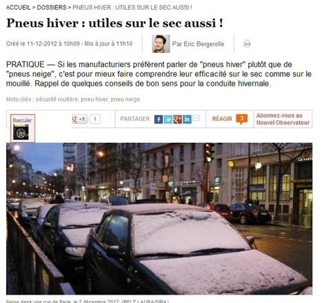 Toopneus'blog! | Conduire en hiver | Info-Pneus : actus, conseils, promos | Scoop.it
