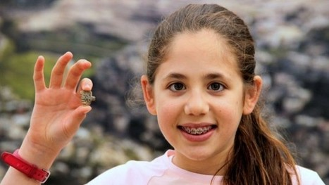 Girl, 12, finds ancient Egyptian amulet at Jerusalem dig | Jewish Education Around the World | Scoop.it