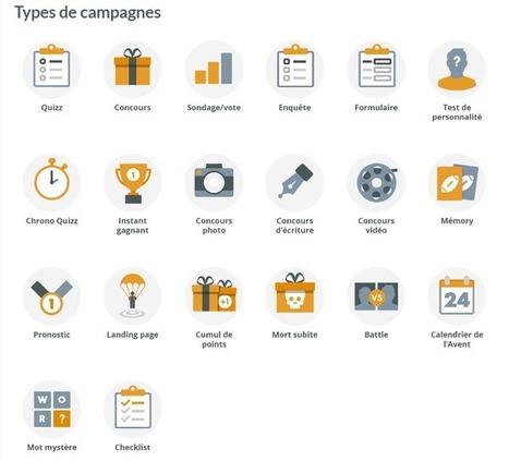 Qualifio : une solution complète pour créer des animations et collecter des données | Outils Community Manager | Scoop.it