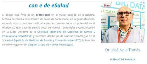 José Ávila: «La eSalud debería ser asignatura en Ciencias de la Salud» | AIeSalud | eSalud Social Media | Scoop.it