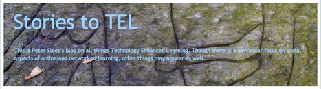 Stories to TEL: Learning in networks and in communities of practice | Educomunicación | Scoop.it