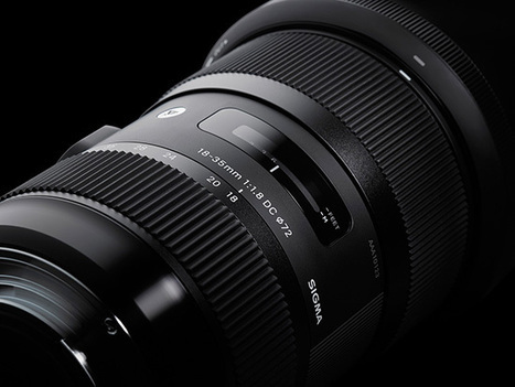 It's real: Sigma 18-35mm f/1.8 DC HSM lens announced | Photography Gear News | Scoop.it