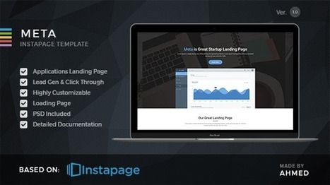 Top 10 Best Marketing Instapage Landing Pages 2016 - Designsave.com | Freebies and Resource | Scoop.it