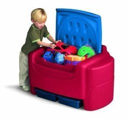 Little Tikes Primary Colors Toy Chest Review | Home Office Furniture | Scoop.it