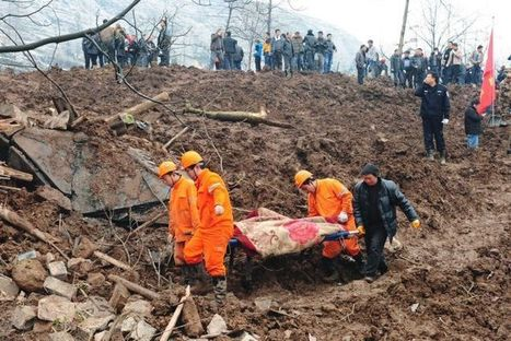 China landslide toll rises to 46 - Australia Network News - ABC News (Australian Broadcasting Corporation) | Climate Chaos News | Scoop.it
