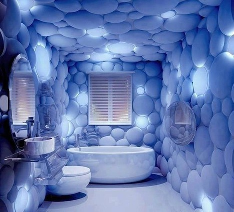 Amazing Small Bathroom Design Worth Visiting   News from Italy about Design & 3D Graphic   Scoop.it