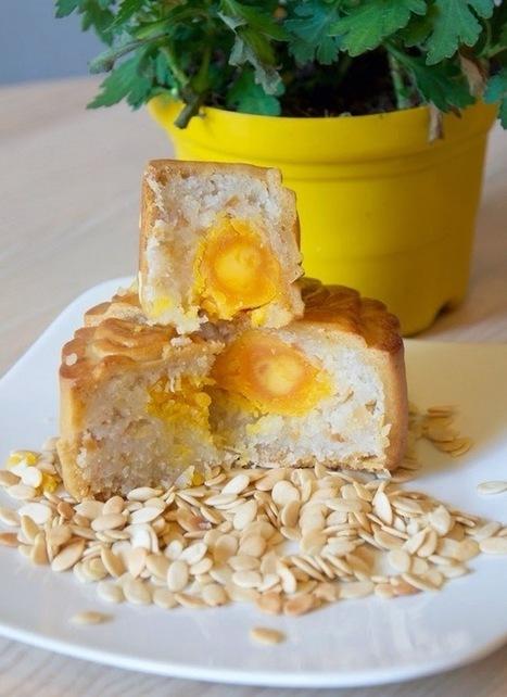 Bánh trung thu nướng nhân dừa hạnh nhân cực ngon | Ẩm thực ngon | Những món ăn ngon | Scoop.it