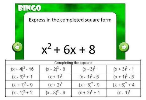 Bingo! | Maths lesson resources | Scoop.it