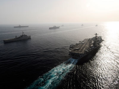 US to flex naval might in Persian Gulf war games | News & Politics | Scoop.it