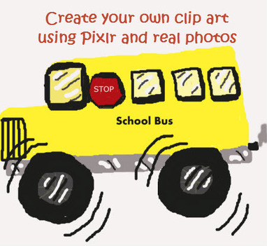 How to create your own clip art with Pixlr - adaptivelearnin | adaptivelearnin | Scoop.it